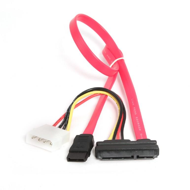 Serial ATA III data en stroom combinatie kabel