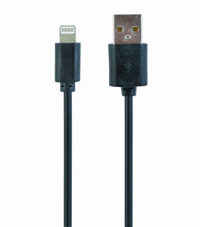 USB oplaadkabel zwart 3 meter