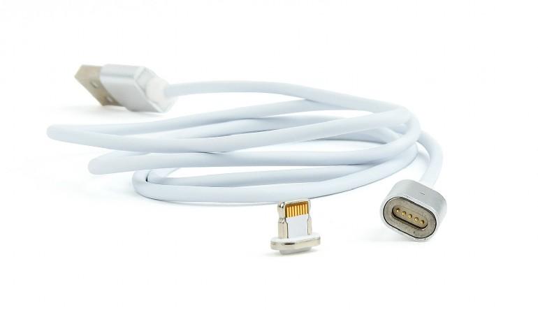 Magnetische 8-pins USB oplaadkabel, 1 meter