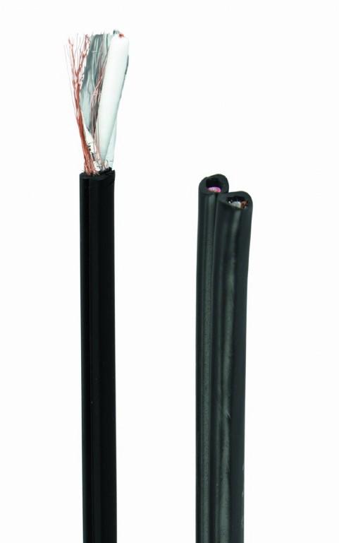 Premium dual-RG59 coaxial kabel, 300 m