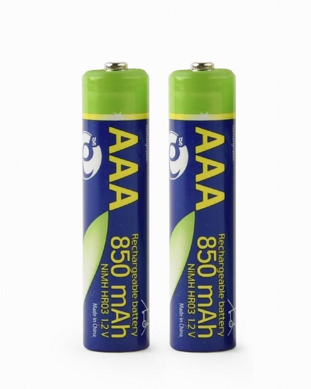 Oplaadbare AAA batterijen 2 stuks 850mAh