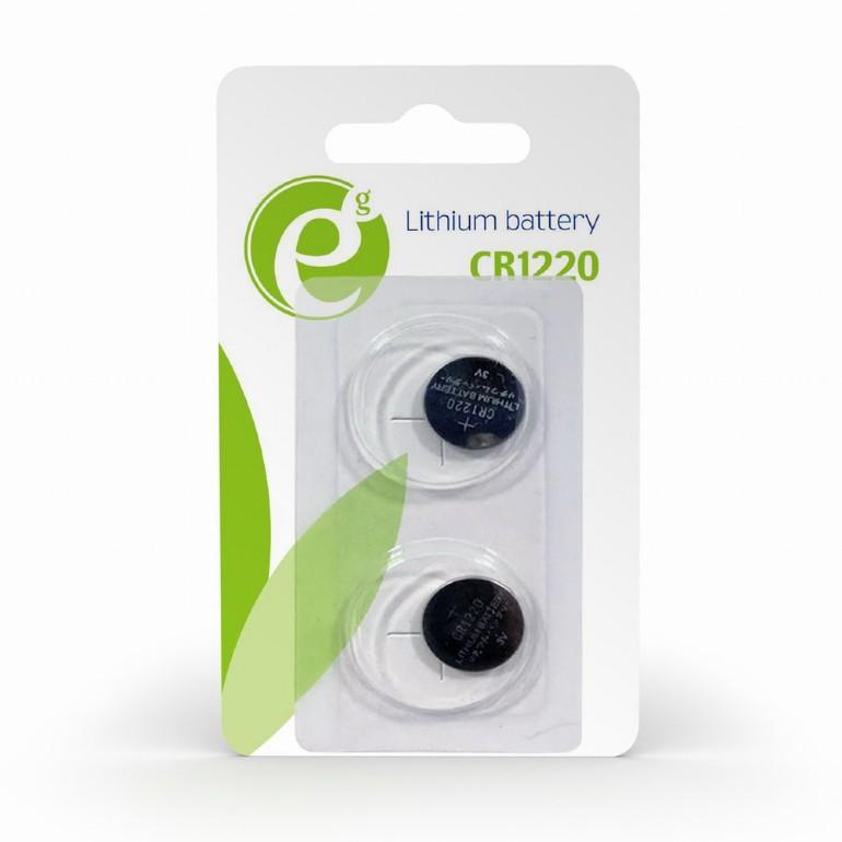 CR1220 knoopcelbatterij, 2 stuks