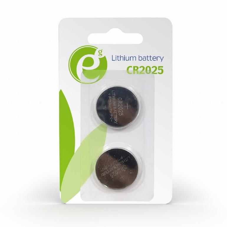 CR2025 knoopcelbatterij, 2 stuks