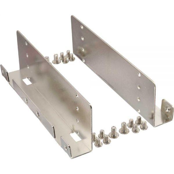 Montageframe (metaal) voor 2,5 SSD naar 3.5 bay