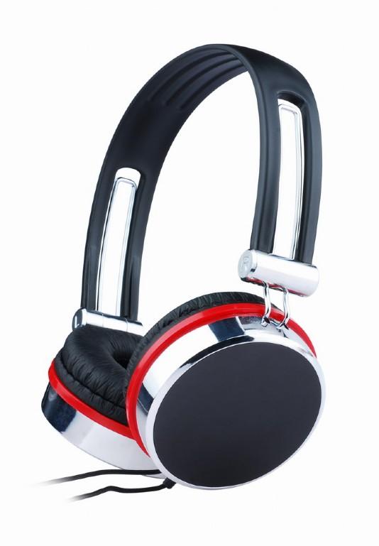 Headset zwart-rood