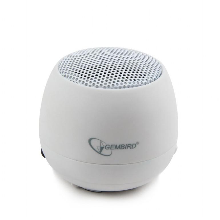 Draagbare Mini Speaker -wit-